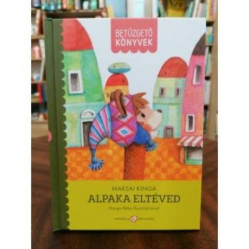 Betűzgető könyvek - Alpaka eltéved
