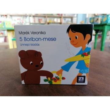 Boribon sorozat - 5 Boribon-mese /Ünnepi kiadás díszdobozban