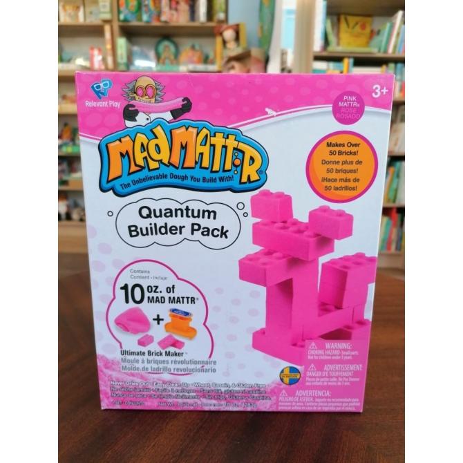 Mad Mattr Quantum Builder - kockagyár ajándékdoboz - pink