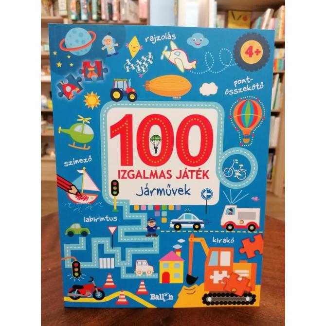 100 izgalmas játék - Járművek