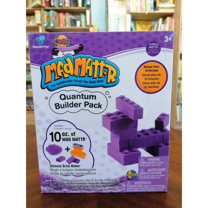 Mad Mattr Quantum Builder - kockagyár ajándékdoboz - lila