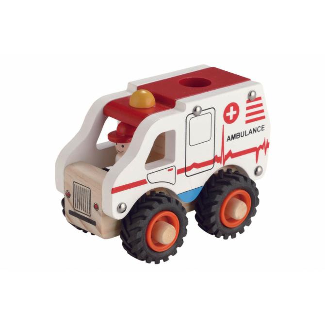 Magni fa mentőautó gumi kerekekkel