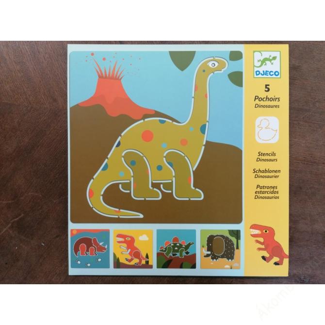 Rajzsablonok - Dínók - Dinosaurs
