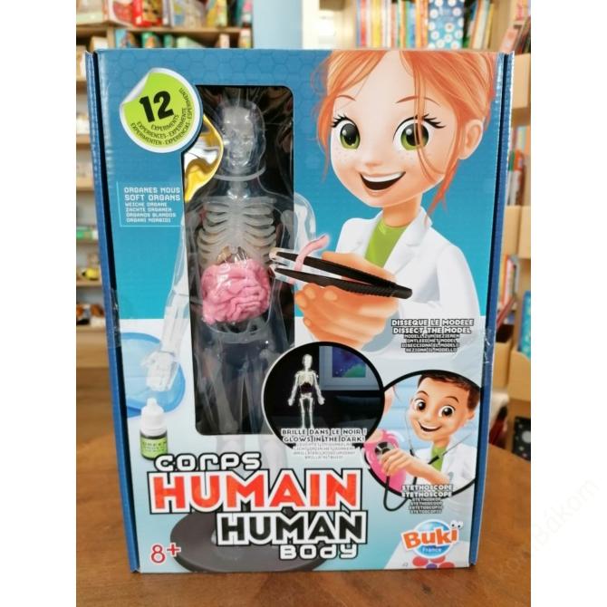 Tudományos készlet - Az emberi test - BUKI