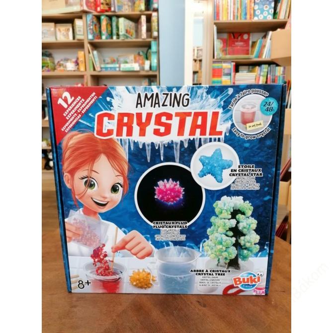 Varázslatos kristály készítő készlet  - BUKI