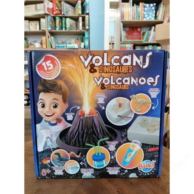 Kísérletező készlet Vulkánok és dinók - BUKI