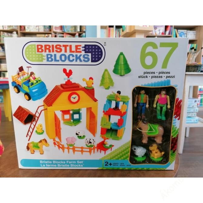 Bristle Blocks - Tüskeépítő Farm 67 db-os