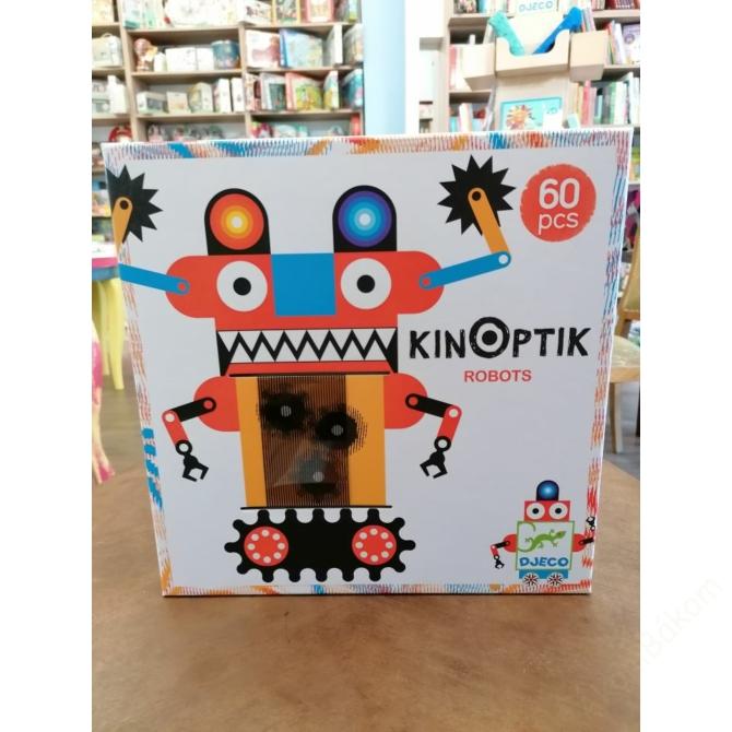 Optikai puzzle - Robotok, 60 db-os - Kinoptik Robots