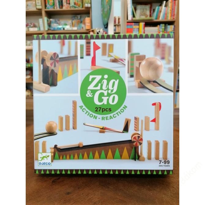 Építőjáték - Sokasodó 27 db - Zig & Go
