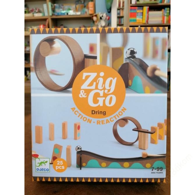 Építőjáték - Sokasodó 25 db - Zig & Go