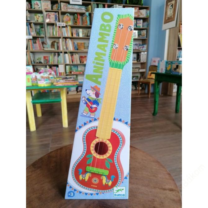 Játékhangszer - Hangolható gyermekgitár