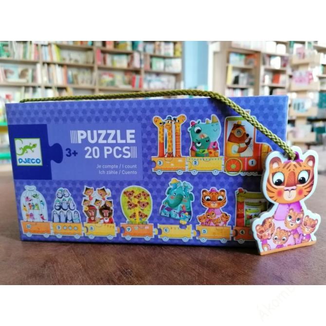 Párosító puzzle - Számoló- I count