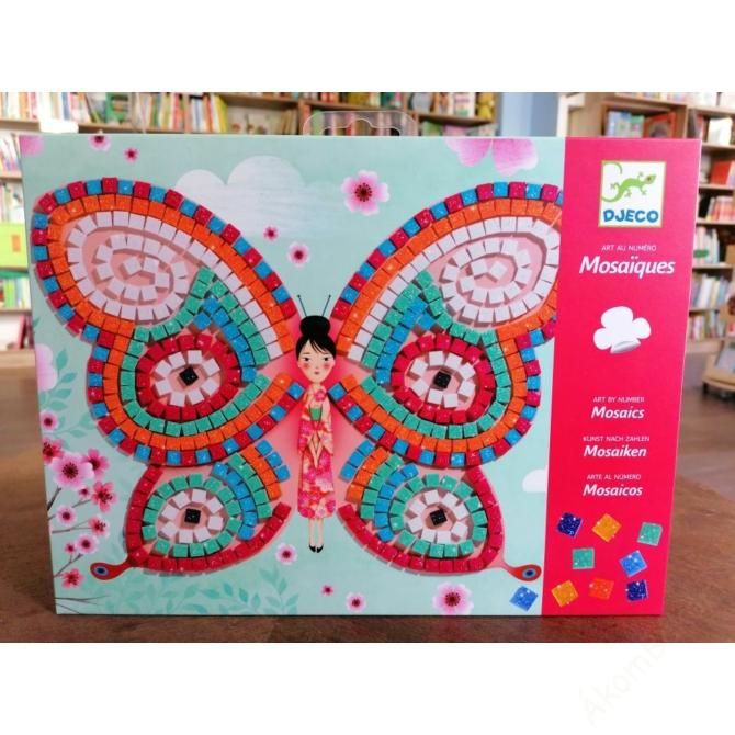 Mozaikkép készítés - Pillangók - Butterflies