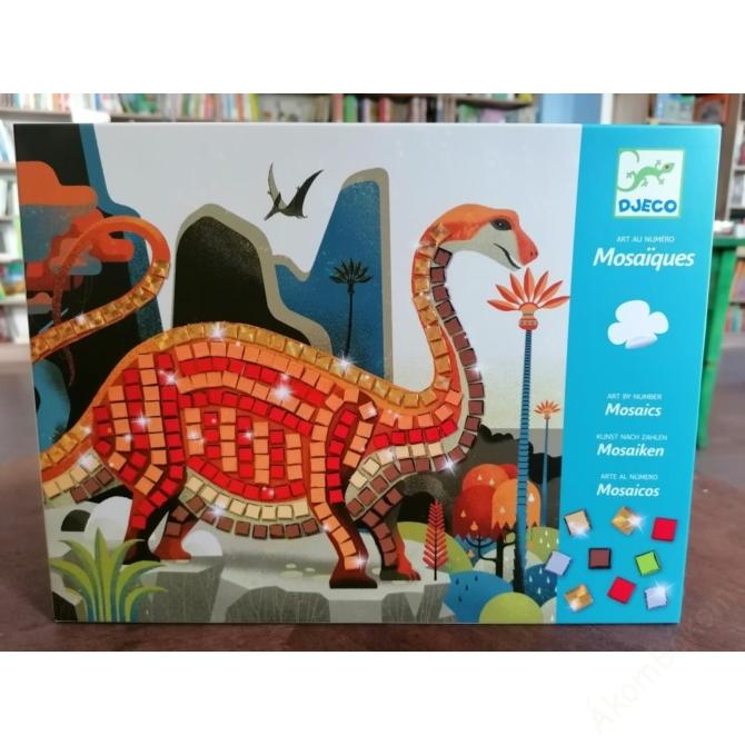Mozaikkép készítés - Dínók - Dinosaurs