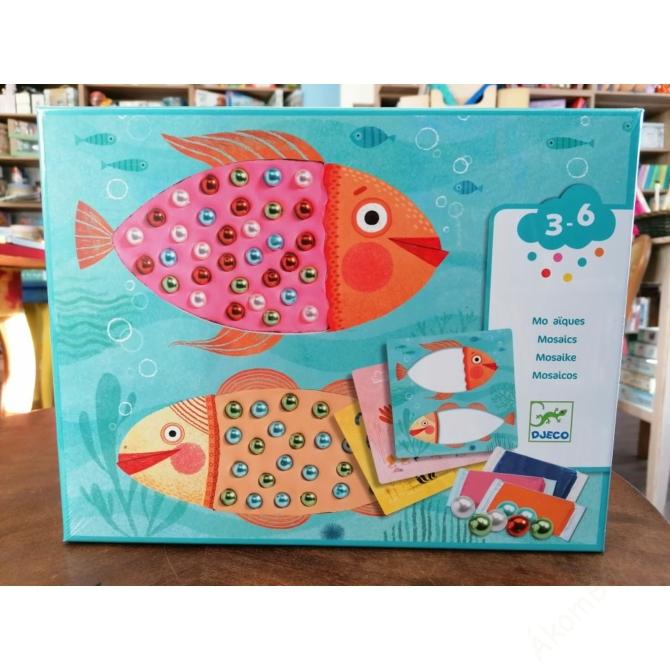 Mozaikkép készítés - Gyöngymozaik - Bead mosaics