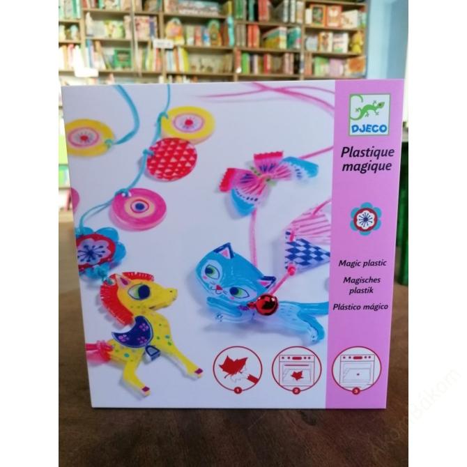 Magic plastic figura készítés - Cica és Póni - The Kitten and the Pony
