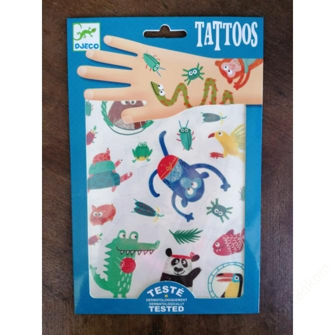 Tetováló matricák - Jópofák - Snouts
