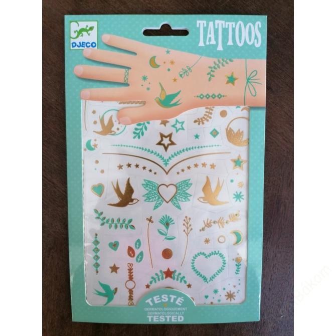 Tetováló matricák - Lili ékszerei - Lily's jewels