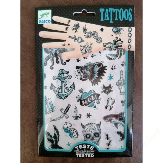Tetováló matricák - Dark side