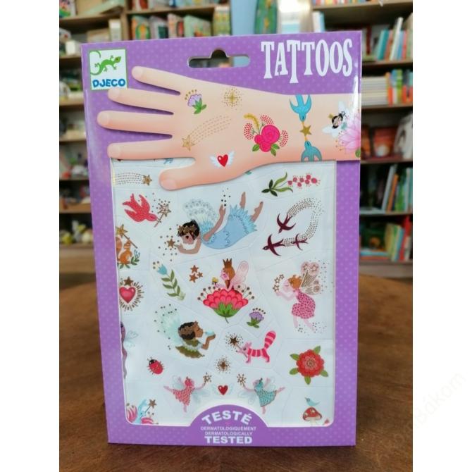 Tetováló matricák - Fairy friends