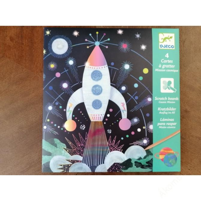 Karckép technika - Űrutazás - Cosmic mission