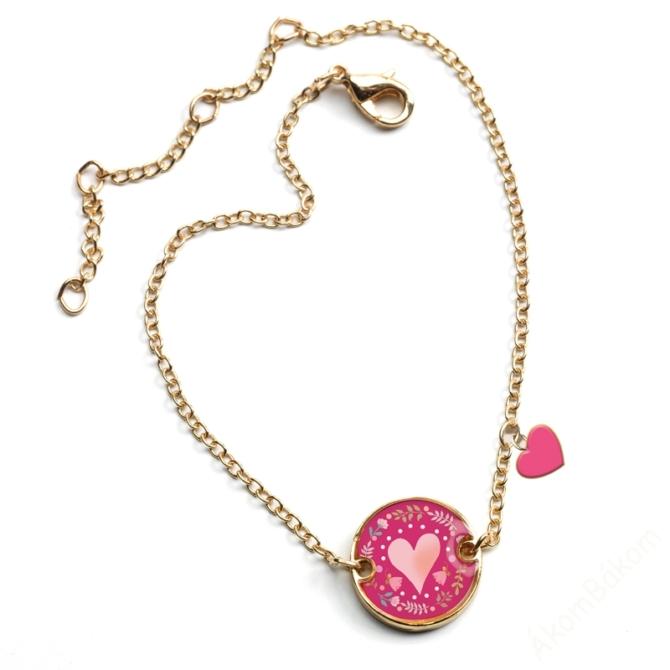 Karkötő - Szív - Heart - Lovely bracelet