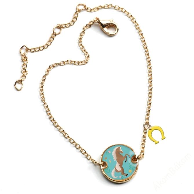 Karkötő - Ló - Horse - Lovely bracelet