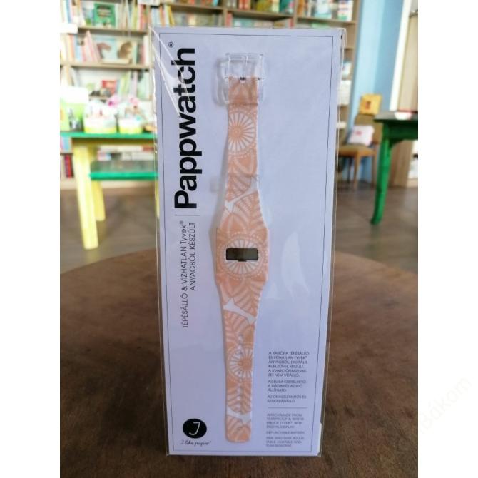 Papír karóra - SNOWFLAKES - Pappwatch