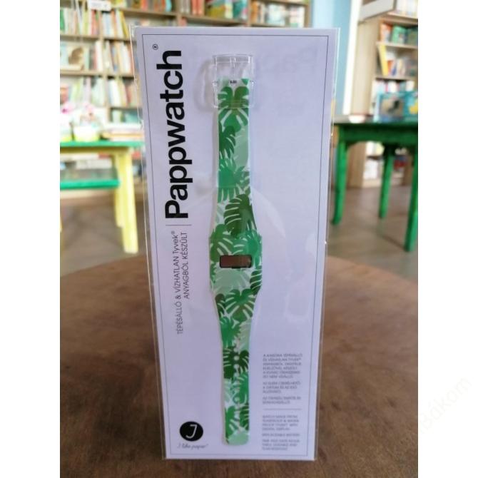 Papír karóra - GREEN JUNGLE - Pappwatch Pappwatch