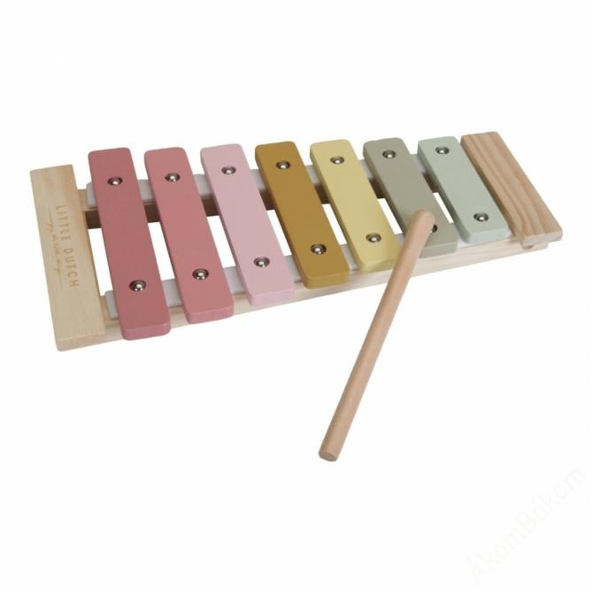 Little Dutch xilofon - pink