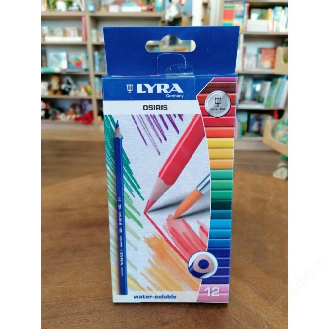 LYRA Aquarell ceruza 12 színű Osiris