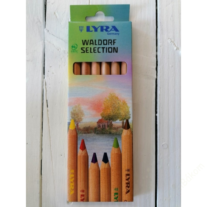 LYRA Waldorf  6 színű ceruzakészlet