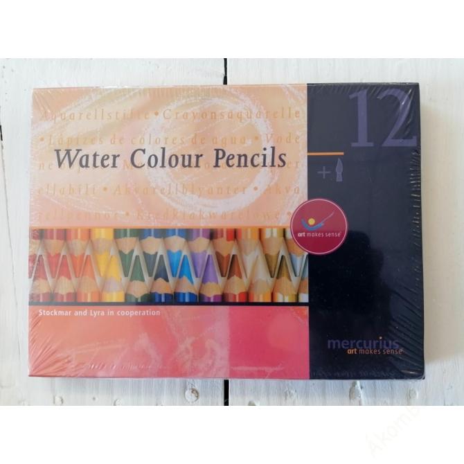 LYRA 12 színű aquarell ceruza + ecset