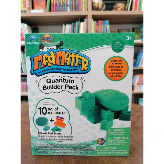 Mad Mattr Quantum Builder - kockagyár ajándékdoboz - türkiz