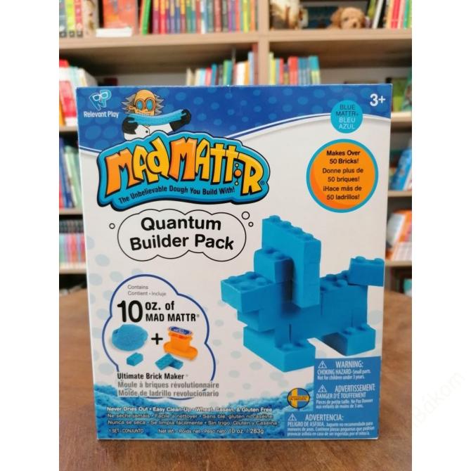 Mad Mattr Quantum Builder - kockagyár ajándékdoboz - kék