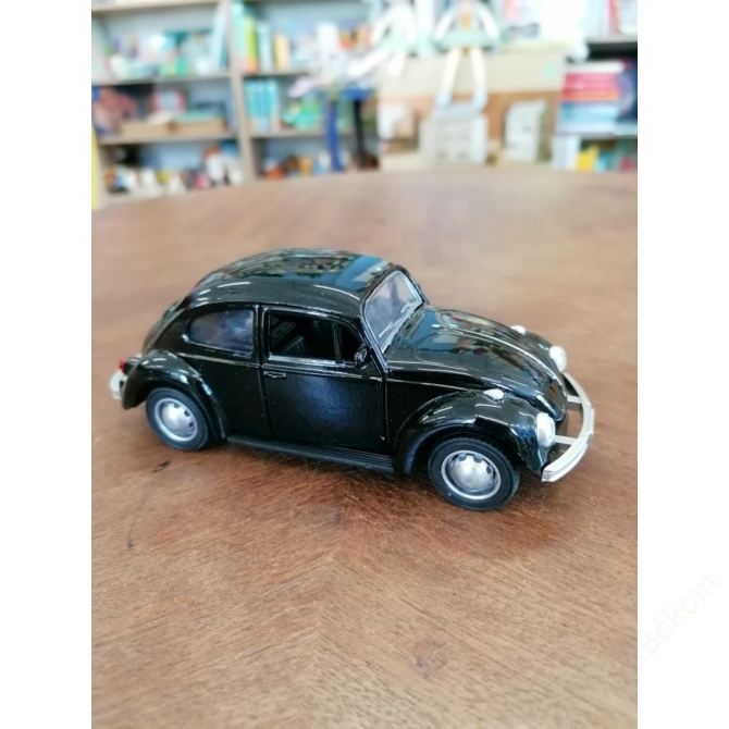 Hátrahúzós Volkswagen Bogár - fekete
