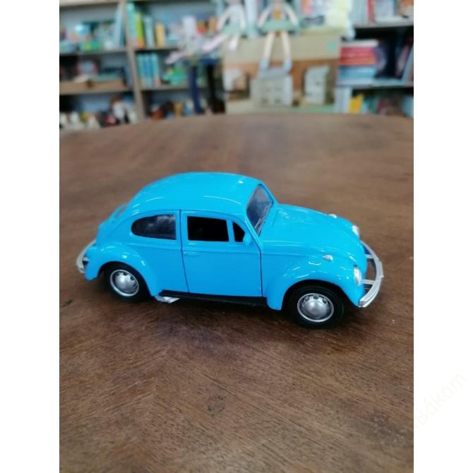 Hátrahúzós Volkswagen Bogár - kék