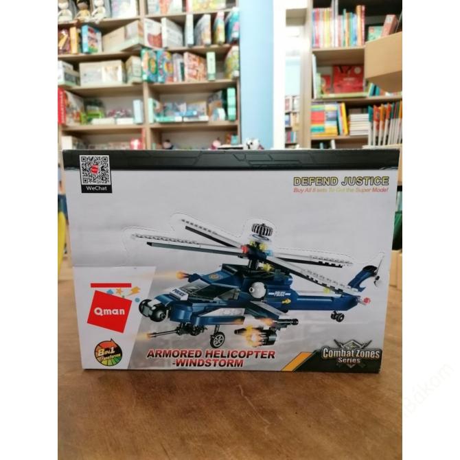 8in1 Szélvihar rendőrségi helikopter - 381 db-os