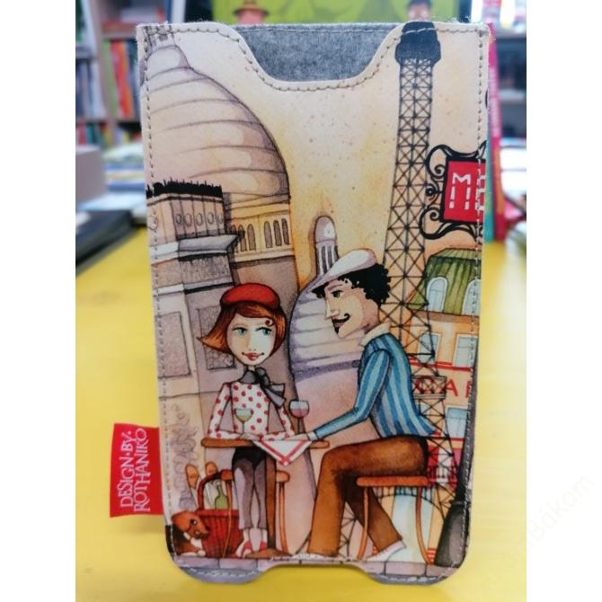 Róth Anikó mobiltelefon/ szemüveg tok - Párizs