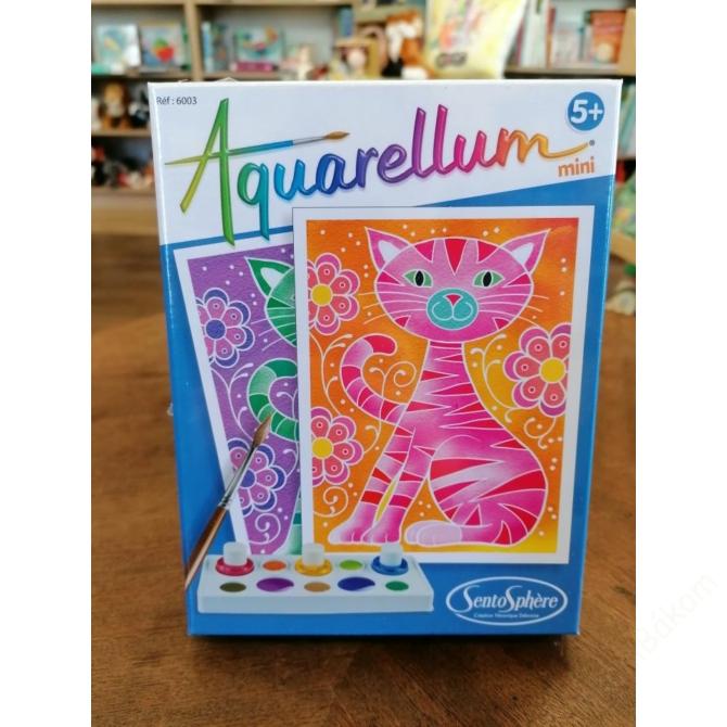 Aquarellum mini vízfestőkészlet - cica