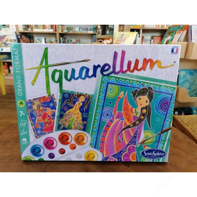 Aquarellum nagy vízfestőkészlet - varázslatos lányok