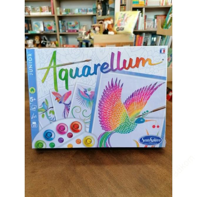 Aquarellum vízfestőkészlet  - paradicsommadarak
