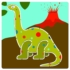Kép 2/3 - Rajzsablonok - Dínók - Dinosaurs