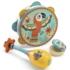 Kép 2/3 - Játékhangszer készlet - Tambourine, maracas, castanet