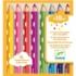 Kép 2/2 - 8 színesceruza kicsiknek - colouring pencils for little ones